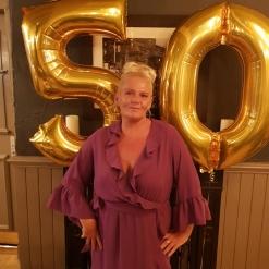 JACKIE 50 BALLOONS