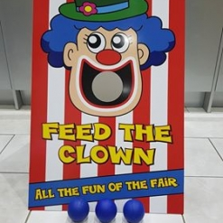 FEED THE CLOWN FETE GAME