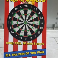 PRIZE DARTS FETE GAME