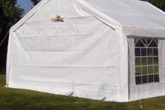 Back view of 4x6 Metre Marquee