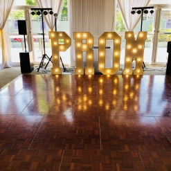 PROM LED LETTERS