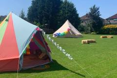 DELUXE BELL TENT SET-UP