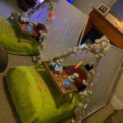 Enchanted Forest Themed Teepee Hire